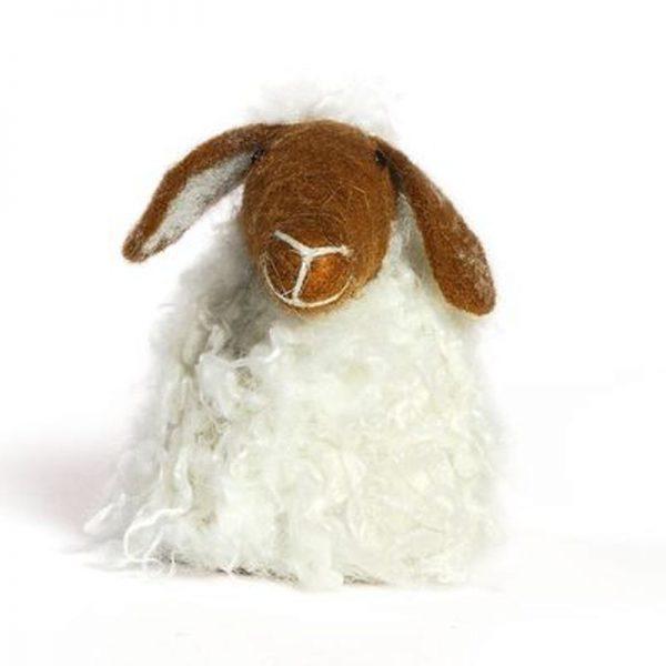 eierwaermer-schaf-braun-fluffig