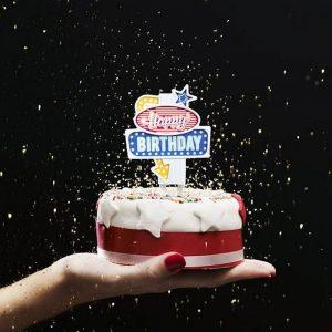 flashing-cake-topper