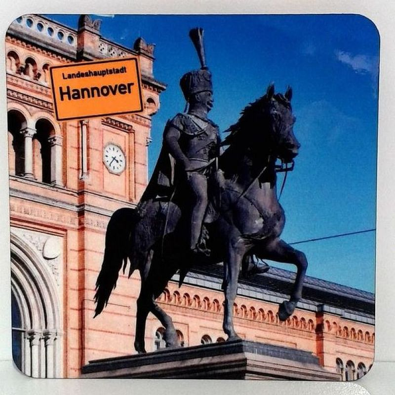 Hannover Bierdeckel - Untersetzer Ernst August Denkmal - GeschenkeList