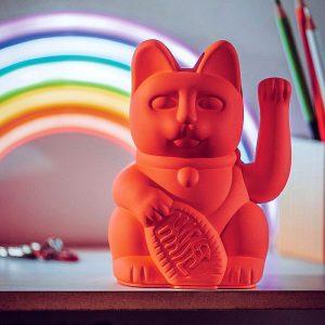 winkekatze-manekineko-neon-pink