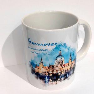 kaffeebecher-hannover-rathaus-aquarell