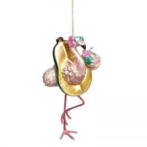 baumschmuck-flamingo-avocado