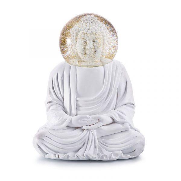 schneekugel-buddha